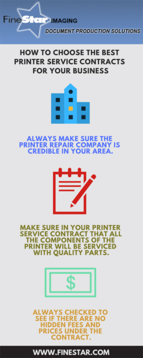 Best Printer Service Contracts