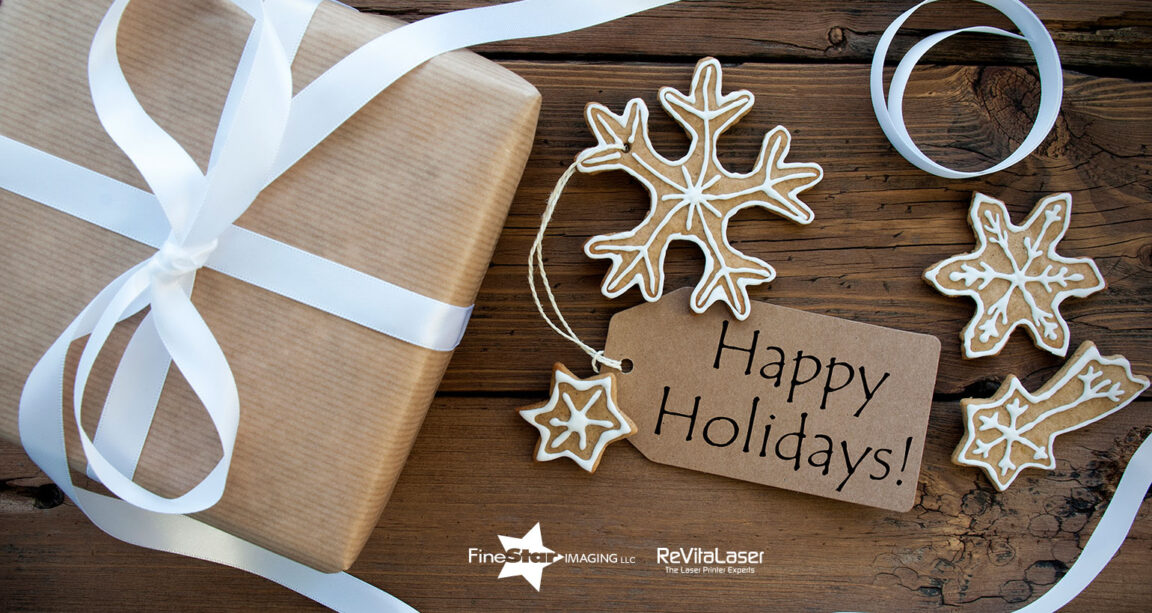 happy holidays from FineStar & ReVitaLaser