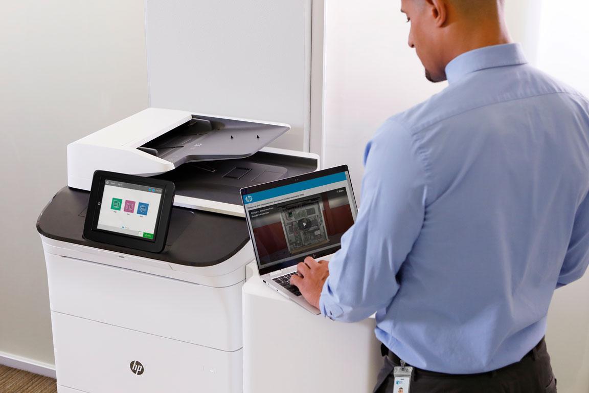 HP printer repair tech